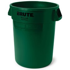 <strong>Rubbermaid Commercial Products</strong> Round Brute Container in Dark Green