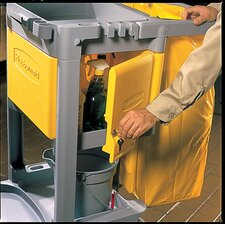 <strong>Rubbermaid Commercial Products</strong> Locking Cabinet for Use with RCP Cleaning Carts