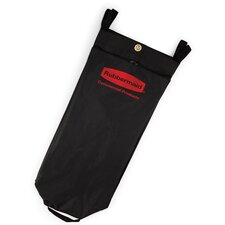 <strong>Rubbermaid Commercial Products</strong> Fabric Cleaning Cart Bag in Black