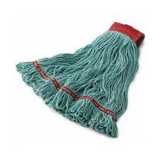 <strong>Rubbermaid Commercial Products</strong> Large Swinger Loop Wet Cotton/Synthetic Mop Heads in Blue