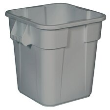 Brute Square Container without Lid - 28 Gallon (Set of 6)