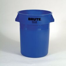 BRUTE® 32 Gallon Round Containers (Set of 24)