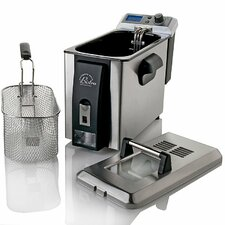 <strong>Wolfgang Puck®</strong> Bistro 4 Liter Electric Deep Fryer