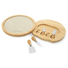 5 Pieces Bamboo Cheese Board