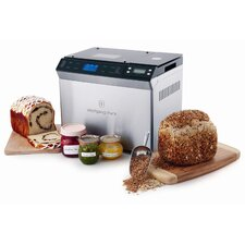 Bread Maker with Automatic Fruit and Nut Dispenser