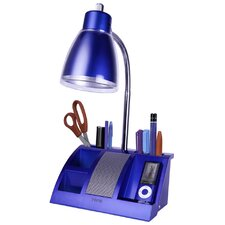 "Ipod Organizer 6.25"" H Table Lamp with Empire Shade"
