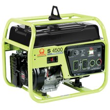 4500 Watt Portable Generator with Recoil Start