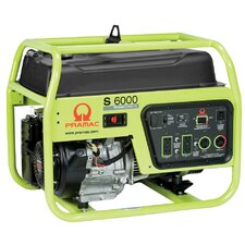 6000 Watt Portable Gas Generator with Honda GX340 Recoil Start