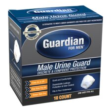 Guardian for Men Male Urine Guard, 10ct