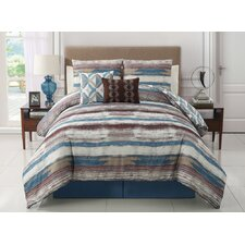 Allegra 5 Piece Reversible Comforter Set