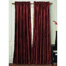 Nathan Lined Rod Pocket  Curtain Single Panel