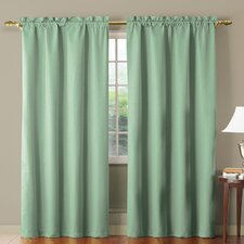 Benedict Rod Pocket Energy Saving  Curtain Single Panel