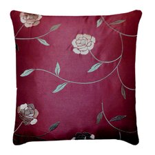 Annabelle Embroidered Feather Down Decorative Pillow