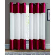 <strong>Victoria Classics</strong> Mason Grommet Curtain Single Panel