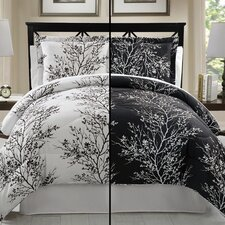 Leaf 8 Piece Queen Bed in a Bag Set
