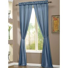 Berkshire Rod Pocket Curtain Single Panel (Set of 2)