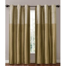 <strong>Victoria Classics</strong> Lancaster Grommet Curtain Single Panel (Set of 2)