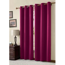 <strong>Victoria Classics</strong> Mckenzie Grommet Curtain Single Panel