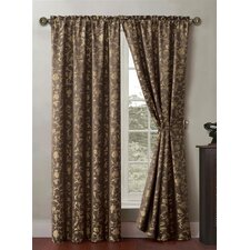 Garden Rod Pocket Curtain Single Panel (Set of 2)