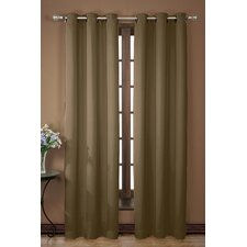 <strong>Victoria Classics</strong> Neil SQ Grommet Curtain Single Panel