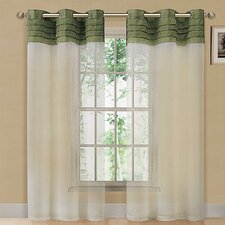 <strong>Victoria Classics</strong> Eastgate Grommet Curtain Single Panel