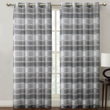 <strong>Victoria Classics</strong> Allura Grommet Curtain Single Panel