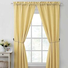 Madison Rod Pocket Curtain Single Panel (Set of 2)