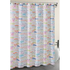 SPA Collage Shower Curtain Set