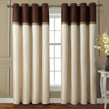 <strong>Victoria Classics</strong> Westin Interlined Grommet  Curtain Single Panel