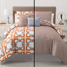Trinity 5 Piece Reversible Comforter Set