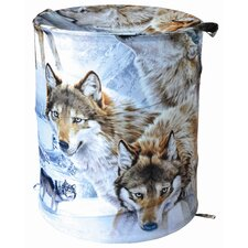 Wolves Crossing Hamper