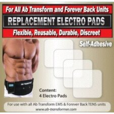 Ab Transform Regular Pads (Set of 4)