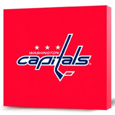 NHL Logo Premium Textual Art on Canvas