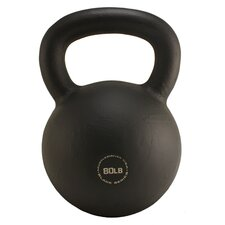<strong>Muscle Driver USA</strong> 80 lb Black Series Kettlebell