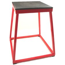 "24"" Steel Plyometric Box in Red"