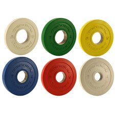 Pendlay 1kg Rule Rubber Change Plate Set