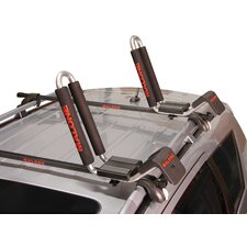 J-Loader J-Style Universal Car Rack Kayak Carrier with Bow and Stern Lines