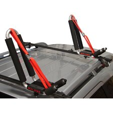 J-Pro 2 J-Style Universal Car Rack Kayak Carrier with Bow and Stern Lines