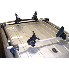 Saddle Up Pro Universal Car Rack Kayak Carrier with Bow and Stern Lines (Set of 4)
