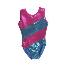 Kids Striped Gymnastics Leotard