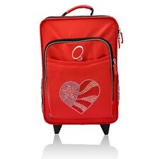 Kids Flag Heart Suitcase