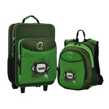 2 Piece Football Kids Luggage and Backpack Set
