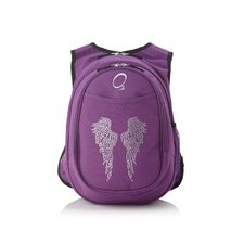 Kids All in One Pre-School Bling Rhinestone Angel Wings Cooler Backpack