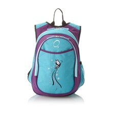 Kids All in One Pre-School Turquoise Butterfly Cooler Backpack