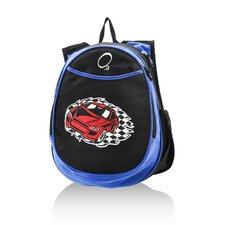 Kids All in One Pre-School Racecar Cooler Backpack