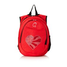 Kids All in One Pre-School Flag Heart Cooler Backpack