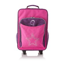 Kids Luggage with Integrated Cooler in Bling Rhinestone Star