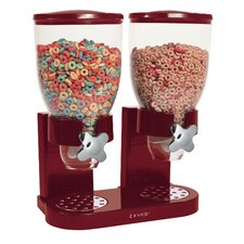 The Original Indispensable Double Dry Food Dispenser (Two 17.5-oz. Canisters)