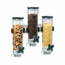 Smart Space Edition Triple Wall Mount Dry Food Dispenser