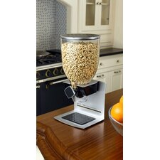 Single Dispenser with CounterTop Stand in Silver